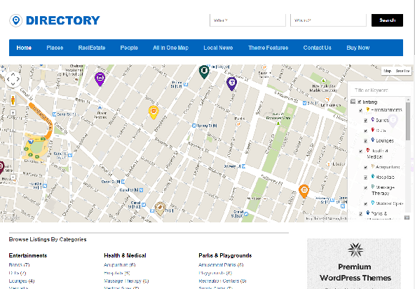 Complete directory solution for WordPress